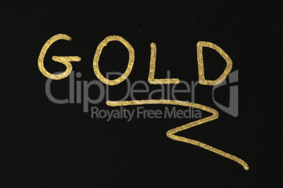 Gold conception text