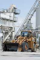 Factory for production of asphalt