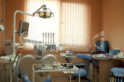 Equipment in the dental office