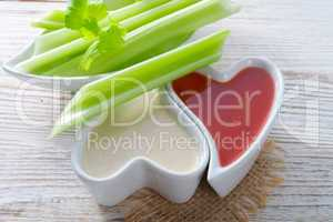celery dippen