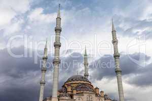 Muslim islam religion Tahtakale Camii mosque in Turkey Manavgat