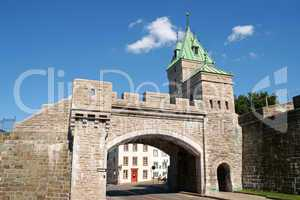 porte saint louis city gate, quebec city