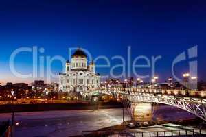 Cathedral of Christ the Savior in Moscow