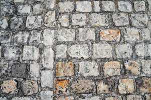 antikes straßenpflaster ancient pavement