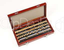 endmaß-set gauge block set