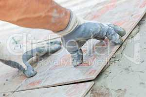 Floor Tile Installation