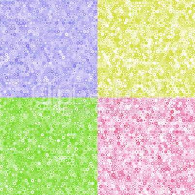 colored texture of hexagons.eps
