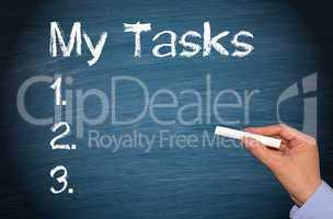 my tasks - checklist