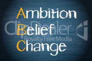 abc - ambition belief change
