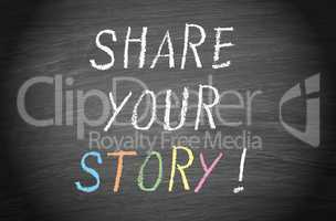 share your story !