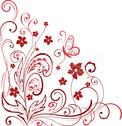 floral element for design.eps