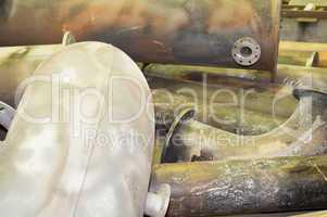 metallrohre metal pipes