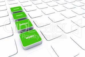 pad konzept grün - markt analyse chance lösung 1