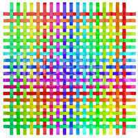 regenbogen farben gitter 4