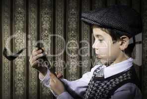 Child considered analog photographic film