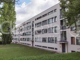 Weissenhof Siedlung in Stuttgart