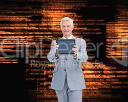 Composite image of boss showing a touch pad screen