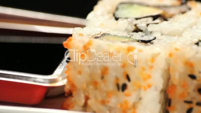 sushis rotating