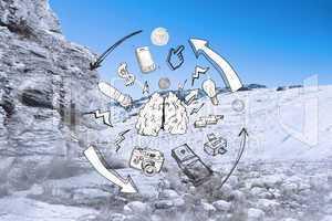Composite image of idea brainstorm