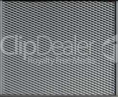 Closeup of metal mesh