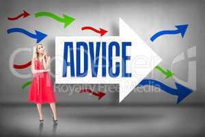 Advice against arrows pointing