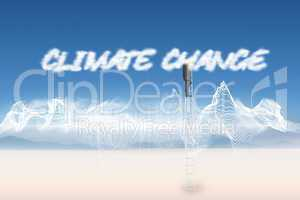 Climate change against energy design over landscape