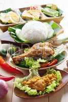 malay fried chicken rice