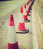 Retro look Traffic cone