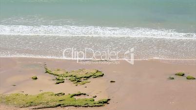Western Algarve beach scenario