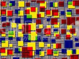 quadrate und linien, hintergrund