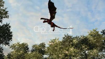 flying dragon wyvern