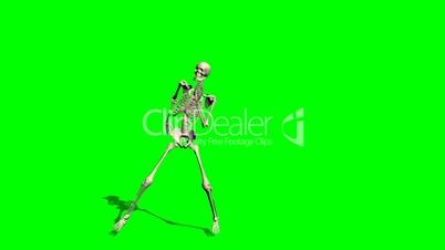 skeleton dance - green screen effect