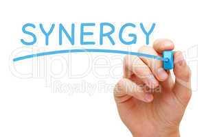 synergy blue marker