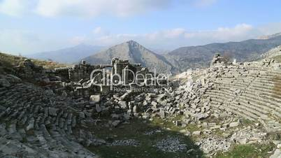 ancient city of Sagalassos 5 time lapse
