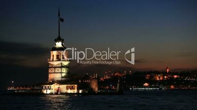 famous place ancient Madien Tower