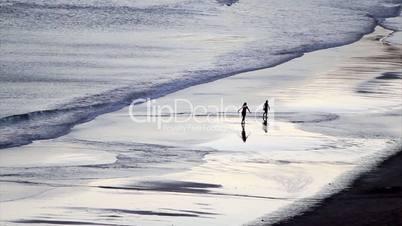 Albufeira fishermen beach scenario (Praia dos pescadores, Algarve, Portugal)