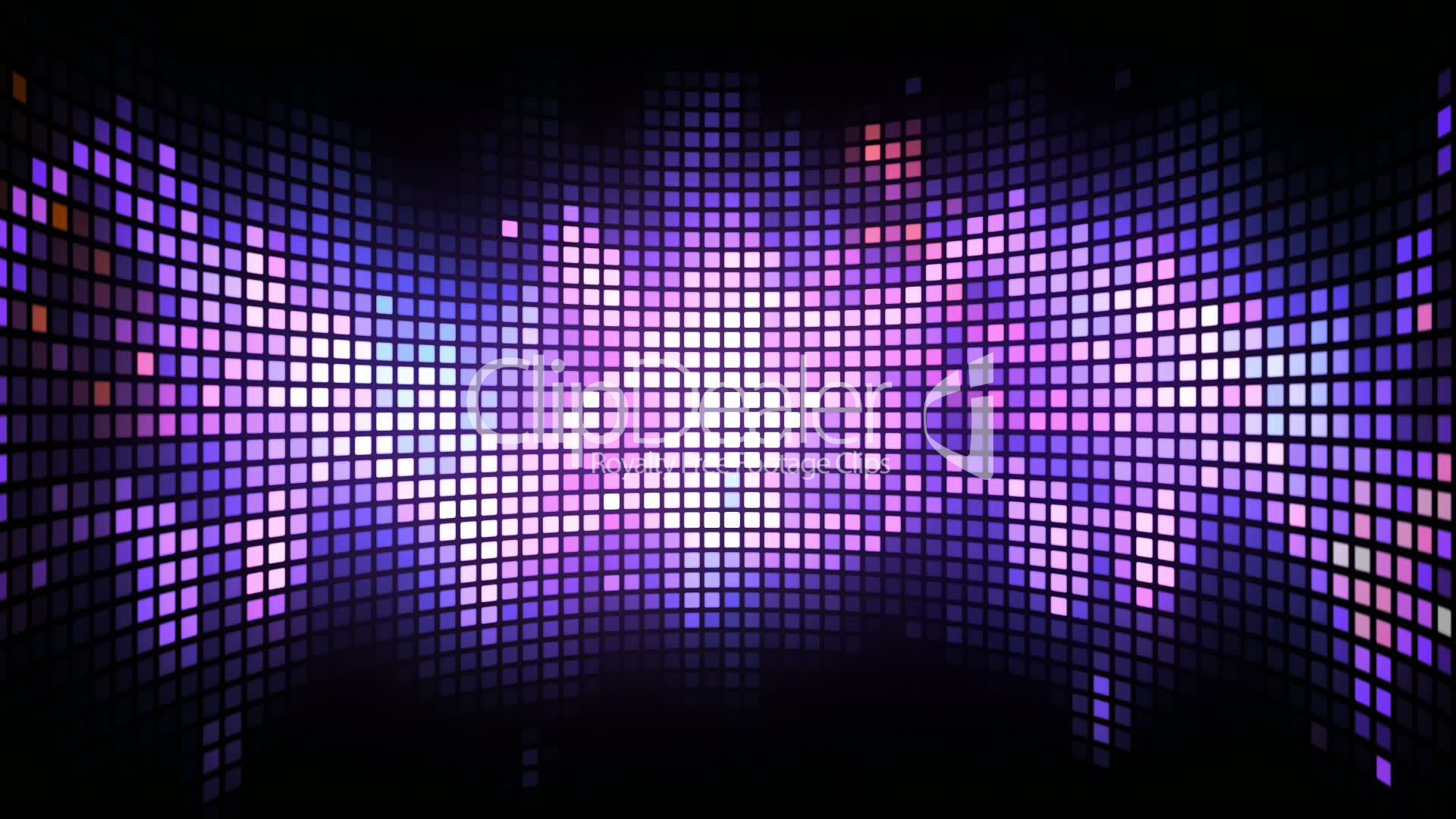 Curved Dance Light Box Background Royalty Free Video And
