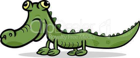 crocodile animal cartoon illustration