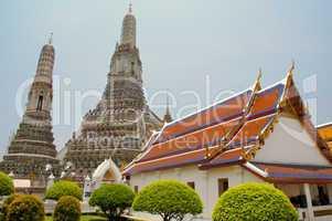 Wat Arun, eingang, hof, Bangkok, Tempel, Haus, Anlage, asiatisch, buddhismus, sehenswürdigkeit, beliebt, tourismus, südostasien, thailand, wat, Stadt, architektur, kultur, erleuchtung, heilig, meditation, religion, religiös, ruhe, schrein, zeremonie, saub