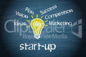 start-up - business concept