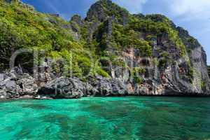 idyllic tropical sea landscape