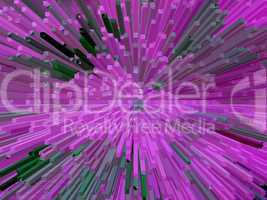 violet abstract background with thorns