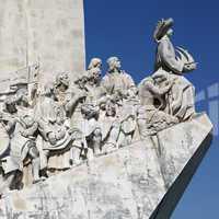 Monument für die Seefahrer in Lissabon Portugal