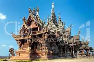 the wooden sanctuary of truth