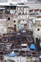 Dyeing in Fes