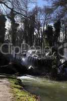 Amazing waterfall in Vittel