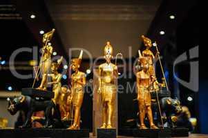 egyptian pharaoh figures