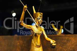 golden egyptian warrior