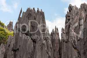 sharp limestone