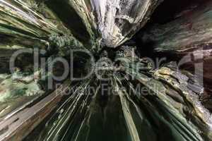 natural cave abstract